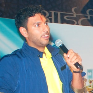 Yuvraj Singh at ITM University
