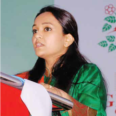 Photo of Ruchi Singh Chauhan (Pro-Chancellor & Trustee) of ITM University