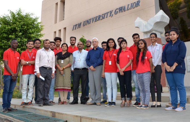 ITM University Students Engaged In Social Awareness Activities